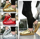 New 2017 Men's Casual Leather Flats Shoes Running Sports Korean Breathable shoes