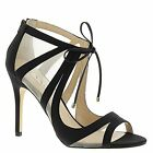 Nina Shoes Mesh Strappy Open Toe Pump (Choose Size)