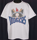 Vintage 1989 MLB LA Los Angeles DODGERS LOGO 7 T-Shirt NWT NEW Old Stock S, M, L