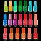 Candy Colors Fluorescent Neon Luminous Gel Nail Art Polish Glow In Dark