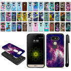 For LG G5 H850 VS987 Hybrid Bumper Protective Hard TPU Case Cover + Pen