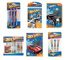 HOT WHEELS - Pen Pencil Case Stationery Novelty Christmas Xmas Birthday Gift Set