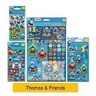 THOMAS & FRIENDS - Colouring Stickers Activity Packs/Pads Kids Party Gift Xmas