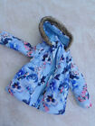 Girls coat with hood by E-vie Angel age 5 years