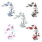 Blossom Flower Applique Clothing Embroidery Patch Sticker Iron DIY On Sew Cloth