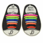 16Pcs No Tie Shoelaces Silicone Shoelaces Elastic Shoe Laces Sneaker Laces Newly