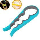 Chic Handle Rubber Grip Container Bottle Jar Can Opener Kitchen Tool Utensil