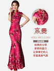 Sequins Chi-Pao Cheongsam Long Wedding Dress Chinese Dress Evening Dress F633