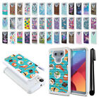 For LG G6 H871 H873 US997 VS998 AS993 Anti Shock Sparkle HYBRID Case Cover + Pen