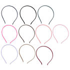 Women Sports Outdoor Metal Hairband Headwear Ornament Hair Hoop 10pcs