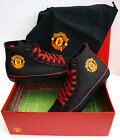MANCHESTER UNITED FC OFFICIAL ADULT SHOES(BLACK