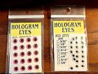 Wapsi Hologram Dome Eyes 20 Eyes per Package Choice of Color & Size ( 1 Pack)