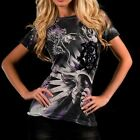 Remetee PANTHER Womens Top T-Shirt S M L NWT NEW