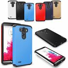 Heavy Duty Rugged Dual Layer Shockproof Protective Case Cover For LG Phone Model