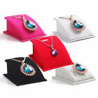 Velvet Holder Necklace Pendant Chain Jewelry Display Stand Show Rack Striking