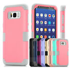 New Protective Hybrid Shockproof Hard Case Cover For Samsung Galaxy S8 & S8 Plus