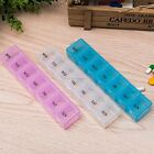 7 DAY WEEKLY PILL TRAVEL BOX TABLET HOLDER MEDICINE DISPENSER STORAGE SH01