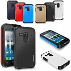 Hybrid Rubber Shockproof Protective Slim Hard Case Cover For Alcatel Phone Model