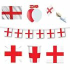 ENGLAND/ST. GEORGE - FLAGS BANNERS BALLOONS(Partyware){fixed UK p&p} NEW