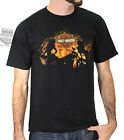 Harley-Davidson Mens Hot Babes in Flames with B&S Black Short Sleeve T-Shirt