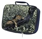 Lioness in Tree Navy Insulated Lunch Box, AT-27LBN