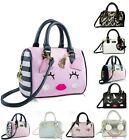 Внешний вид - Luv Betsey Johnson Mini Barrel Purse Crossbody Satchel Messenger Shoulder Bag