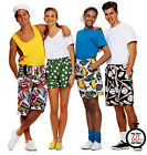 Sew & Make McCall's M6104 8943 SEWING PATTERN - Adult Unisex BOXER SHORTS Uncut