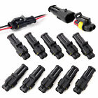 10PCS Waterproof Electrical Wire Connector Plug 2/3/4 Pin Way Super seal Car Pre