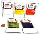 Wapsi Rayon Medium Chenille Fly Tying Material Choice of Color ( One Package )