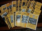 Watford HOME programmes 1960s