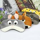 Sleep Eye Mask Sleeping Travel Fun Animal Print Cover Light Shade Sleepwear LA
