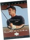 2001 Upper Deck Golf PGA Tour Premiere National Heroes Insert Single Card