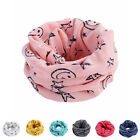 Toddler Boys Girls Smile Star Cycling Neck Warmer Tube Scarf Scarves Bandanas