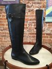 Isola Arielle II Black Leather Pointed Toe Riding Boot NEW