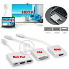 THUNDERBOLT 3 AV MULTIPORT VGA HDMI ADAPTER for Apple Macbook Air iPad Pro USB-C