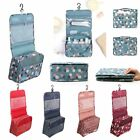 Cosmetic Make up bag Travel Organizer hanging Zipper Wash Toiletry Storage Pouch