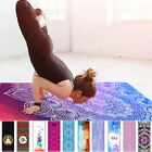 Lightweight Pro Yoga Mat Workout Exercise Gym Fitness Pilates Foldable Mattress