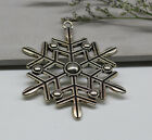 wholesale 2/10pcs 58x47mm fashion delicate lovely Charm big snow pendant