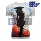Wonder Woman Poster Inspired Men's Organic Standard or Fitted T-shirt
