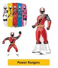 "POWER RANGERS Foil BALLOONS (SuperShape/Kids/Birthday/Party/Foil/18""/Latex)"