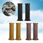 """7/8"""" Motorcycle Hand Grips Handlebars Bar End For Cafe Racer Bobber Clubman TOP"""