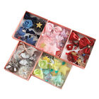 10PCS Cute Kids Girls Baby Crown Hairpin Hair Clips Princess Barrette Headwear