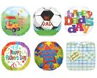 """FATHERS DAY FOIL BALLOONS (DAD/Kids/Party/Foil/18""""/Happy/Garden/Football/Grandad"""