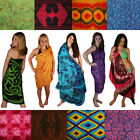 Sarongs - Floral, Celtic, Tie Dye. We Pick the Sarong. Our Best Stock + Gift