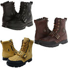 Polo Ralph Lauren Mens Andres III Strap Zip Up Fashion Ankle Boots Casual Shoes