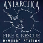 Antarctica McMurdo Fire Department South Pole T-shirt S to 5XL Short/Long Sleeve