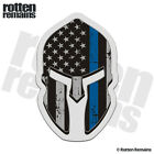 American Subdued Flag Thin Blue Line Spartan Decal Police Sticker M44