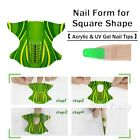 20/100/500pcs Acrylic Nail Art Form Sticker Self-adhesive Extension Guide UV Tip