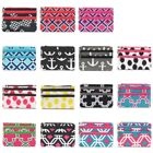 Women Zippered Pockets Portable Fashionable Coin Purse Wallet Pouch Bag