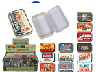Vintage Style Storage Box - Cigarette Tobacco Box Small Tin Holder
